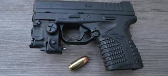 springfield xds laser light combo cll 01 subcompact green laser light combo at3 tactical