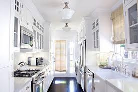white galley kitchen designs galley kitchen design ideas that excel galley kitchens