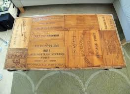 Wine Crate Coffee Table Diy by 104 Best Wine Box Images On Pinterest Wine Boxes Wine Crates