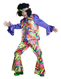 Flower Power Halloween Costume Flower Power Size Men Karnevalswierts