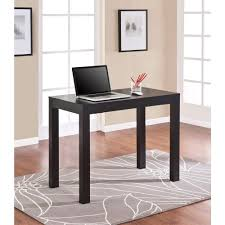 Oak Study Desk Altra Furniture Parsons Desk With Drawer In Black Oak 9178396