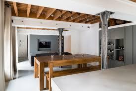 old warehouse apartment becomes flexible loft design milk