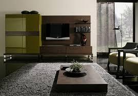 gray brown and green livingroom