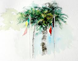 watercolor palms recollections 54 the of david tripp