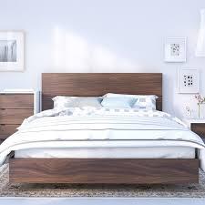 Platform Bed With Nightstands Attached Modern Platform Beds Allmodern