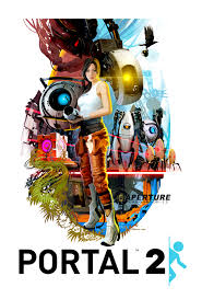 community post u002770s style portal 2 poster portal store and