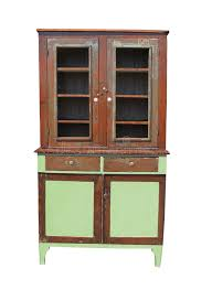 old and worn wooden cupboard isolated stock photo image 24919640