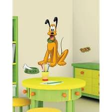 Mickey Mouse Clubhouse Bedroom Decor Disney Mickey Mouse Clubhouse 41 U201d Giant Pluto Dog Wall Decals