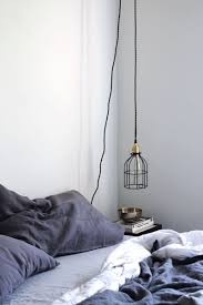 hanging reading light diy hanging pendant light from color cord