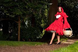 Red Riding Hood Halloween Costumes Gothic Red Riding Hood Dress U0026 Cape Mgd Clothing
