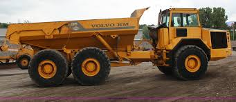 volvo haul trucks for sale 1995 volvo bma35 articulated haul truck item h6724 sold
