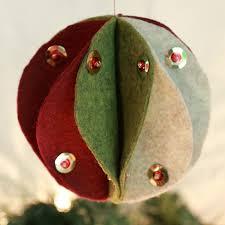 felt christmas ornaments tutorial sewing 4 free