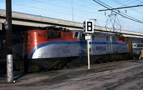Amtrack Gg 1 No 906 At The Army Navy Game 1975 U2014 Amtrak History Of