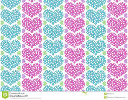 floral gift wrapping paper gift wrapping paper design with pink and blue hearts pastel col