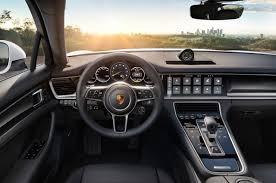 porsche panamera hatchback interior 2017 porsche panamera 4 e hybrid makes public debut autocar