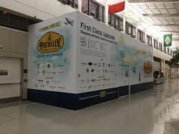 adhesive wall murals in md va and dc csi adhesive wall mural at washington dulles international airport