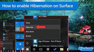 Resume From Hibernation Windows 8 How To Enable Hibernation Support On Microsoft Surface