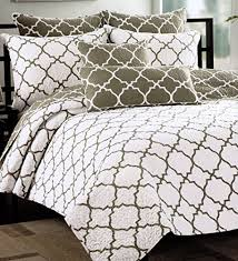 california king quilts and coverlets max studio home quatrefoil quilt bedspread 3pc king california