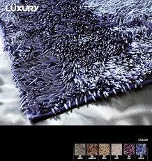 tappeto in microfibra luxury tappeto in microfibra effetto lucido con fondo antiscivolo