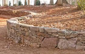 stone retaining wall ideas estate buildings information portal
