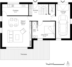 plan de maison avec 4 chambres plan de maison rez de chaussee 2104 sprint co
