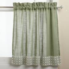 Curtains 46 Inches Long Basement Window Curtains Amazon Com