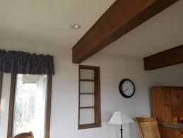 paint ceiling beams