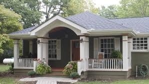adding a covered porch to a ranch house