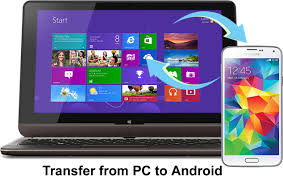 transfer photos from android to pc how to transfer from pc to android