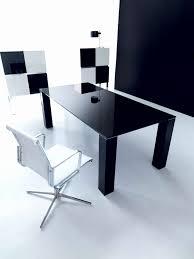 bureau design noir laqué petit bureau multimedia avec stunning bureau design noir laqu images