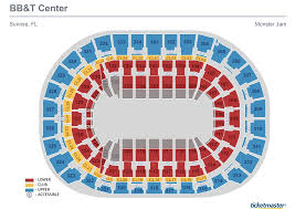 seat map seating charts bb t center