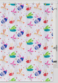 creative bath cute as a bug shower curtain and hooks belk collection