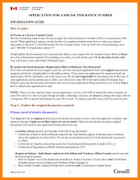 application social insurance number application form social