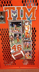Ideas For Decorating Lockers Senior Night Football Decorations Each Senior Gets His Own