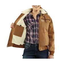 carhartt wildwood weathered duck jacket for women