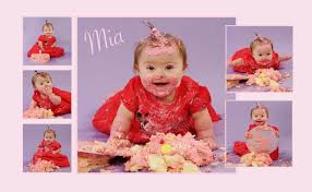 cake smash for babies with all abilities shy violet photography