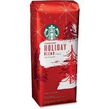 amazon com starbucks holiday blend ground coffee soft