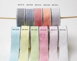 1 5 inch woven chevron striped ribbon wired may arts wholesale