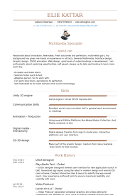 Digital Media Resume Examples by Ux Designer Resume Samples Visualcv Resume Samples Database