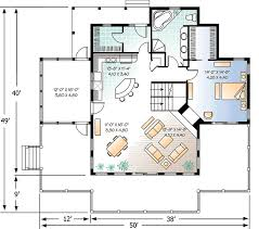 vacation home floor plans four season vacation home plan 21569dr architectural designs