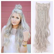 light ash blonde clip in hair extensions ready to ship light ash blonde hair extensions blonde clip in hair