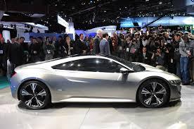 honda supercar concept honda acura nsx concept unveiled ultimate car blog