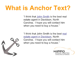 what is anchor text u201ci