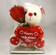 teddy bears for valentines day white teddy 6 happy s day with clear box