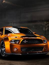 Black And Orange Mustang Wow Orange Newer Ford Mustang Black Racing Stripe Classic Ford