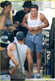 Magic Mike Xxl Living Room Theater Adam Rodriguez Nest Hair And The Cast Of Magic Mike Xxl On Set