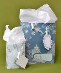 Gift Wrapping How To - how to make gift bags from scrapbook paper gift ideas