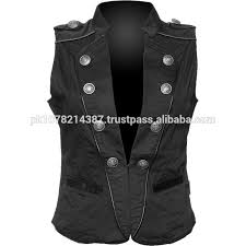 Womens Military Vest Fancy Vest For Women Fancy Vest For Women Suppliers And