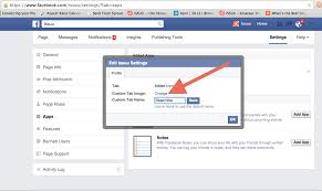 changing your facebook app tab image and name u2013 issuu help center