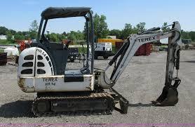 2005 terex hr14 mini excavator item g8674 sold august 2